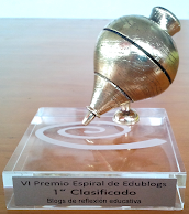 1er premio blogs reflexión educativa 2012