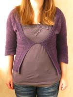 simple basic cardigan sweater knitting pattern