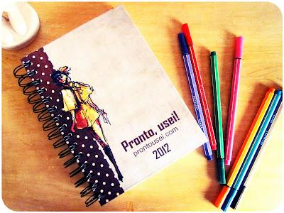 A agenda do blog!