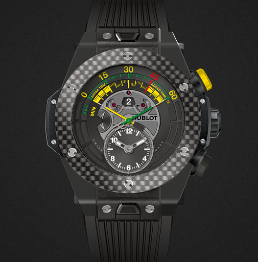 HUBLOT BIG BANG UNICO BI-RETROGRADE CHRONO CARBON