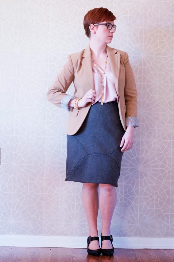 tangible artiste a flattering pencil skirt tutorial