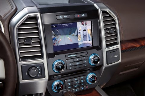 Ford Ups 2015 F-150 Convenience & Safety with 10 Awesome Driver-Assist Features