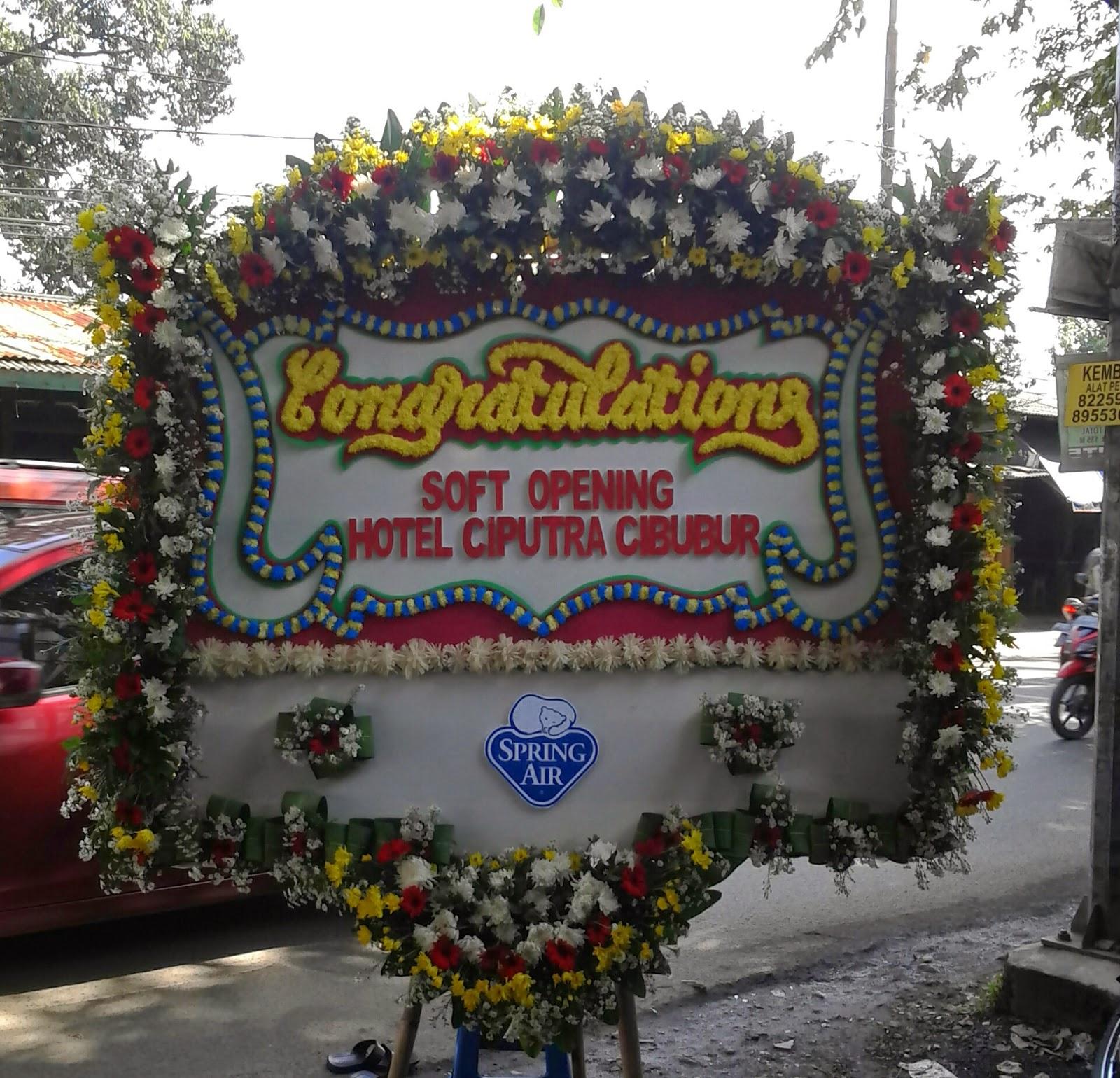 Bunga Papan Congratulation (WS-096)