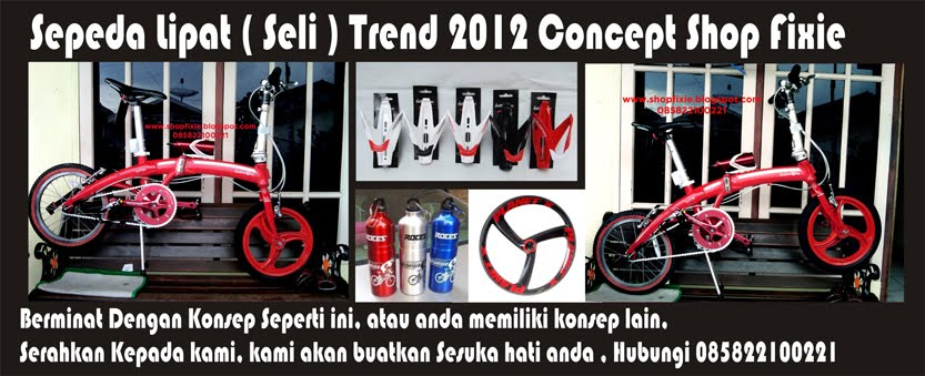 Sepeda Lipat Trend 2012 Concept By Shop Fixie