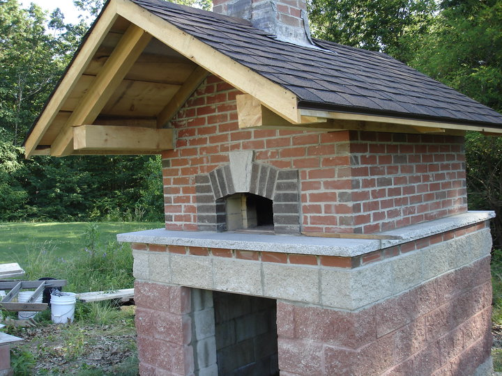 Brick box image outdoor brick oven - How to build an outdoor brick oven ...