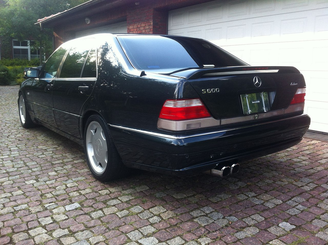 Mercedes benz w140 s600 lorinser black benztuning for Mercedes benz s600 coupe