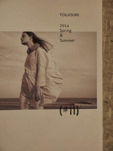toujours 2014 spring&summer season book sunrise market