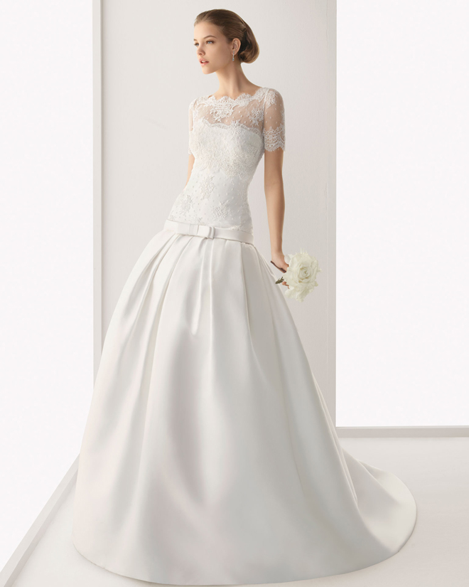 wedding dress bridal gown rosa clara 2012