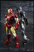. these look to to definitely be some of the better IM figures in this . (bandai sh figuarts iron man mkvi war machine )