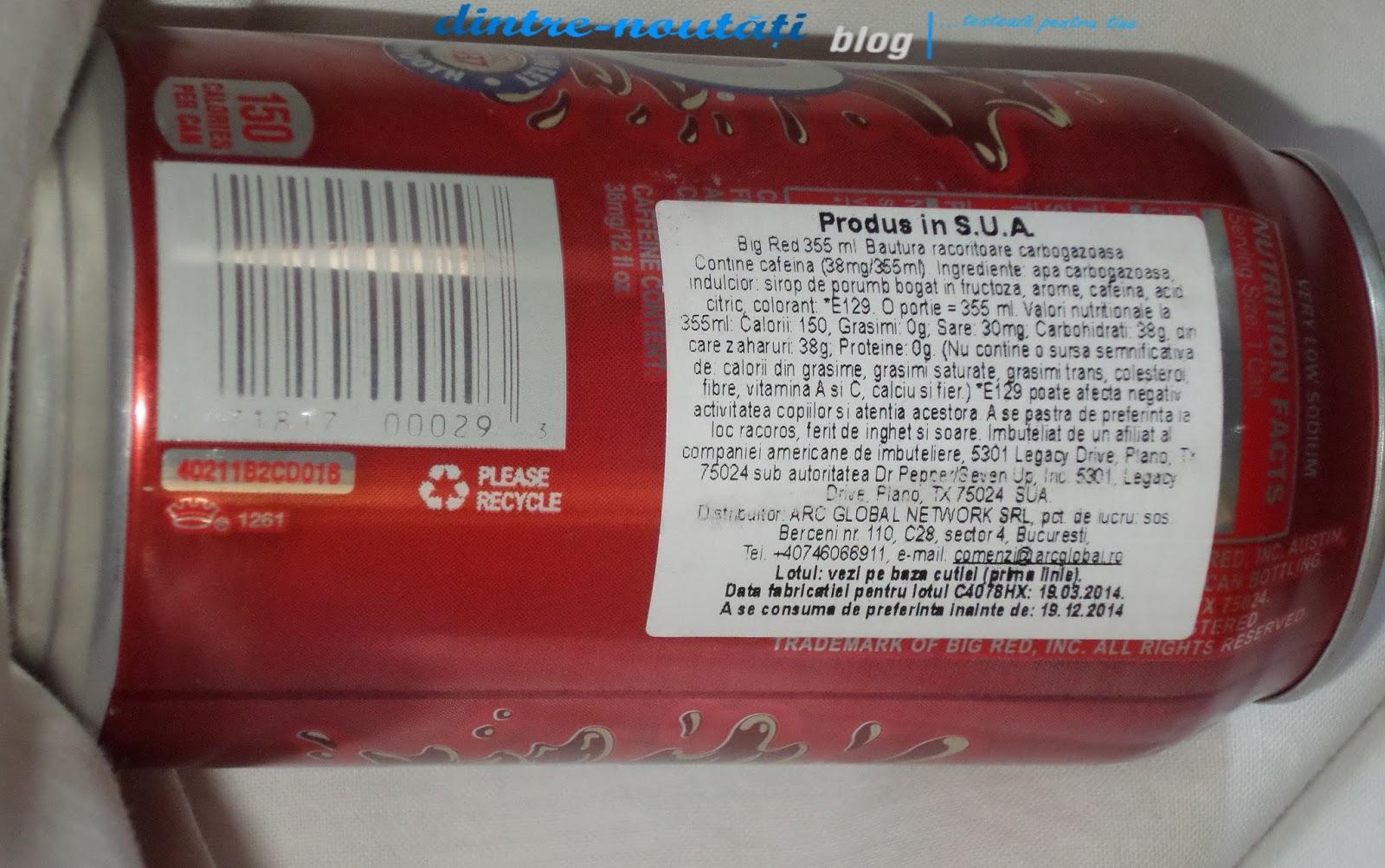 Băutură răcoritoare carbogazoasă SUA USA cotton candy