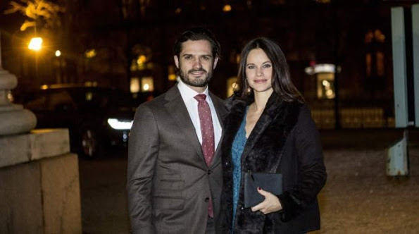 Princess Sofia And Prince Carl Philip Attended Christmas Concert