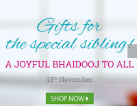 Fernsnpetals : Happy Bhaiya Dooj Offer