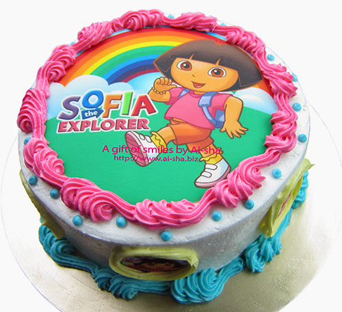 Kek Harijadi Dora the Explorer