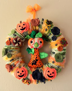 Halloween Decoration, Wreaths, part 2