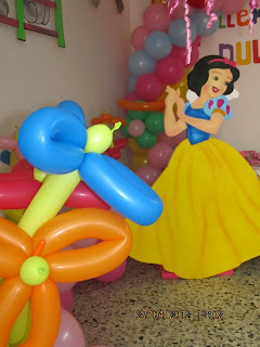 DECORACION PRINCESAS DISNEY 2 RECREACIONISTAS MEDELLIN