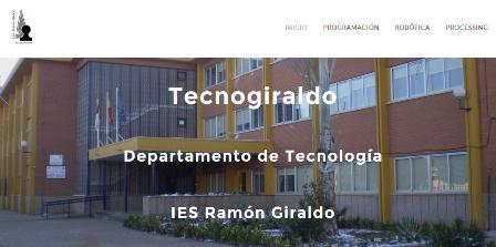 Web Departamento Tecnología