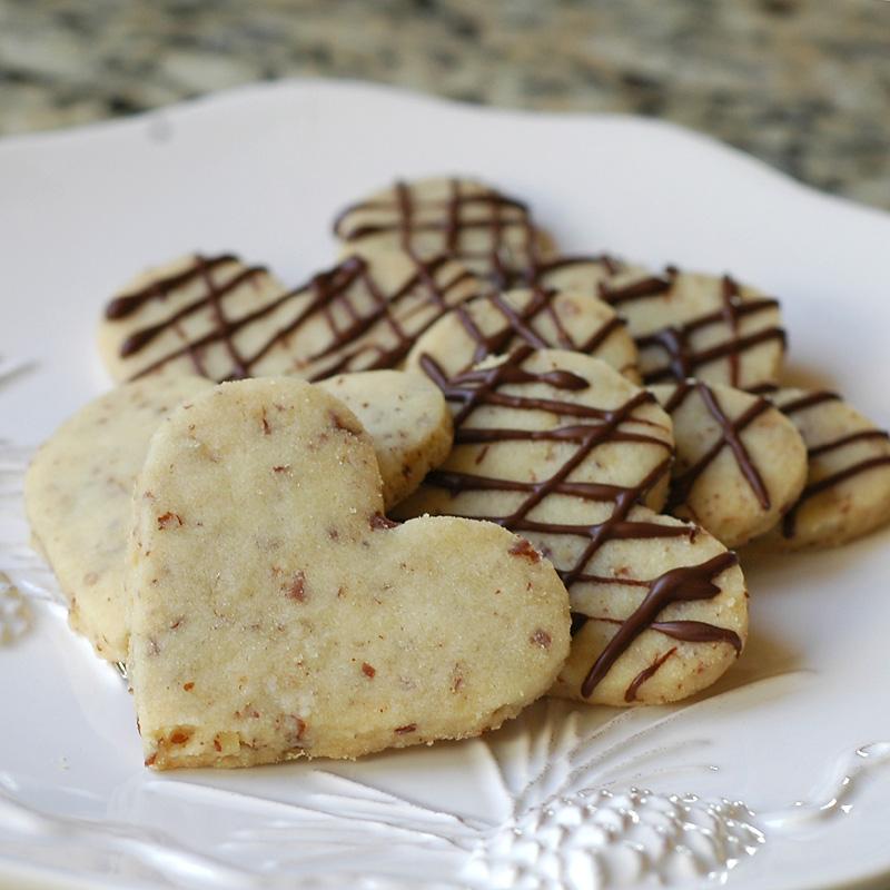 Pecan Shortbread Cookies~