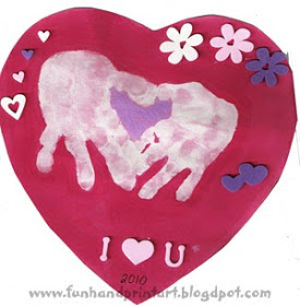 heart+shaped+handprint+Valentine 5 Fun Valentines Activities for your Kids!