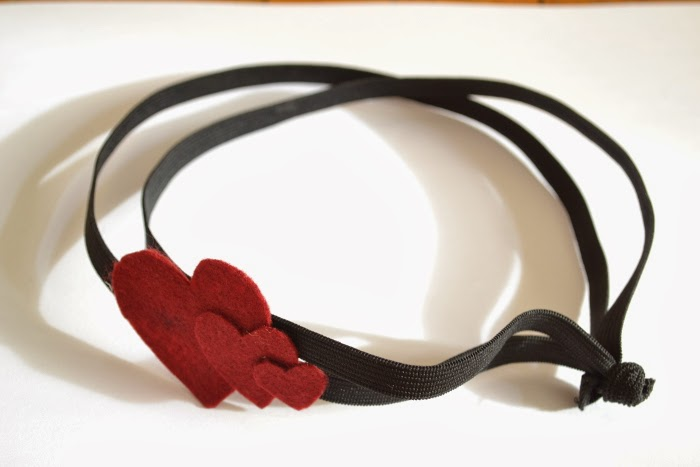 Valentine's DIY # 4 : Mini-tuto Headband à coeurs, sans couture !
