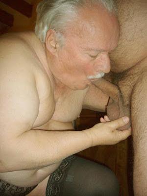gradpa blowjob - crossdresser oldermen