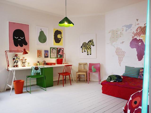 decoração quarto de criança-cores