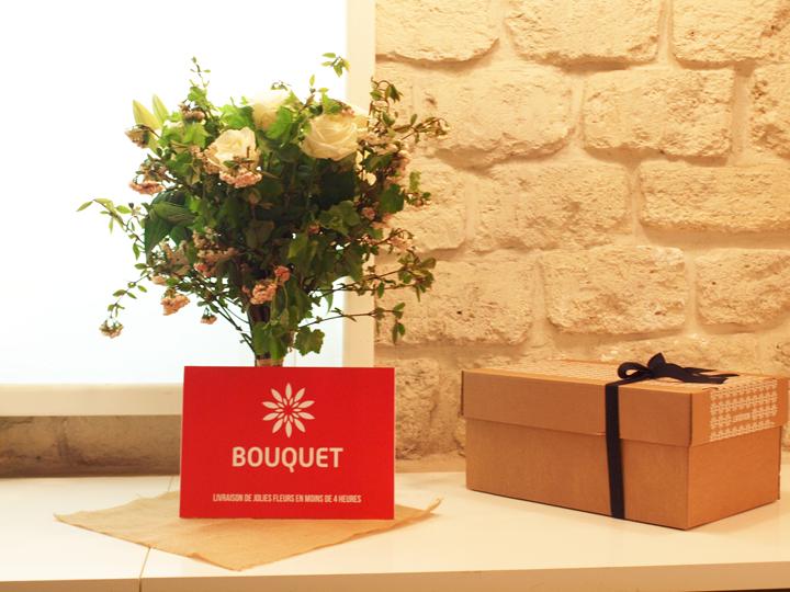 livraison bouquet de fleurs bouquet application iOS