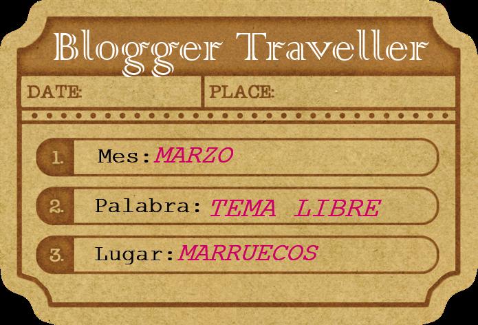 logo blogger traveller marzo
