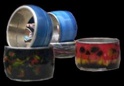 Anéis de Resina com base de metal