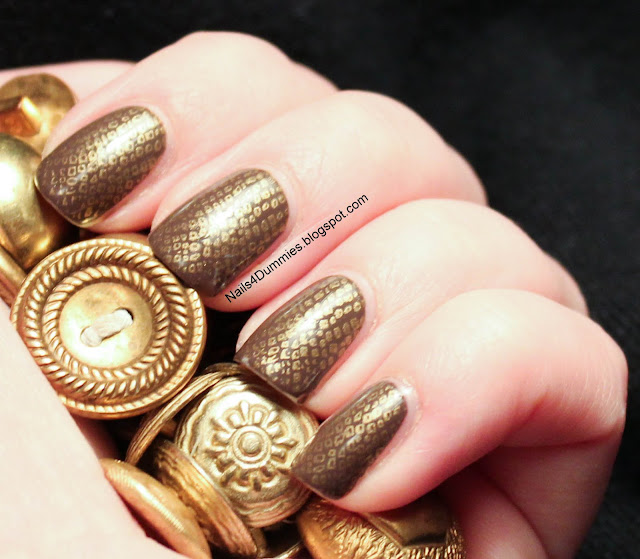 Snakeskin Stamp Nails