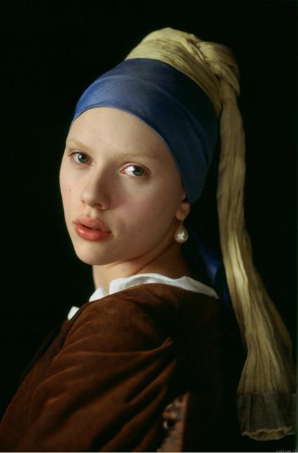 flickan med pärl