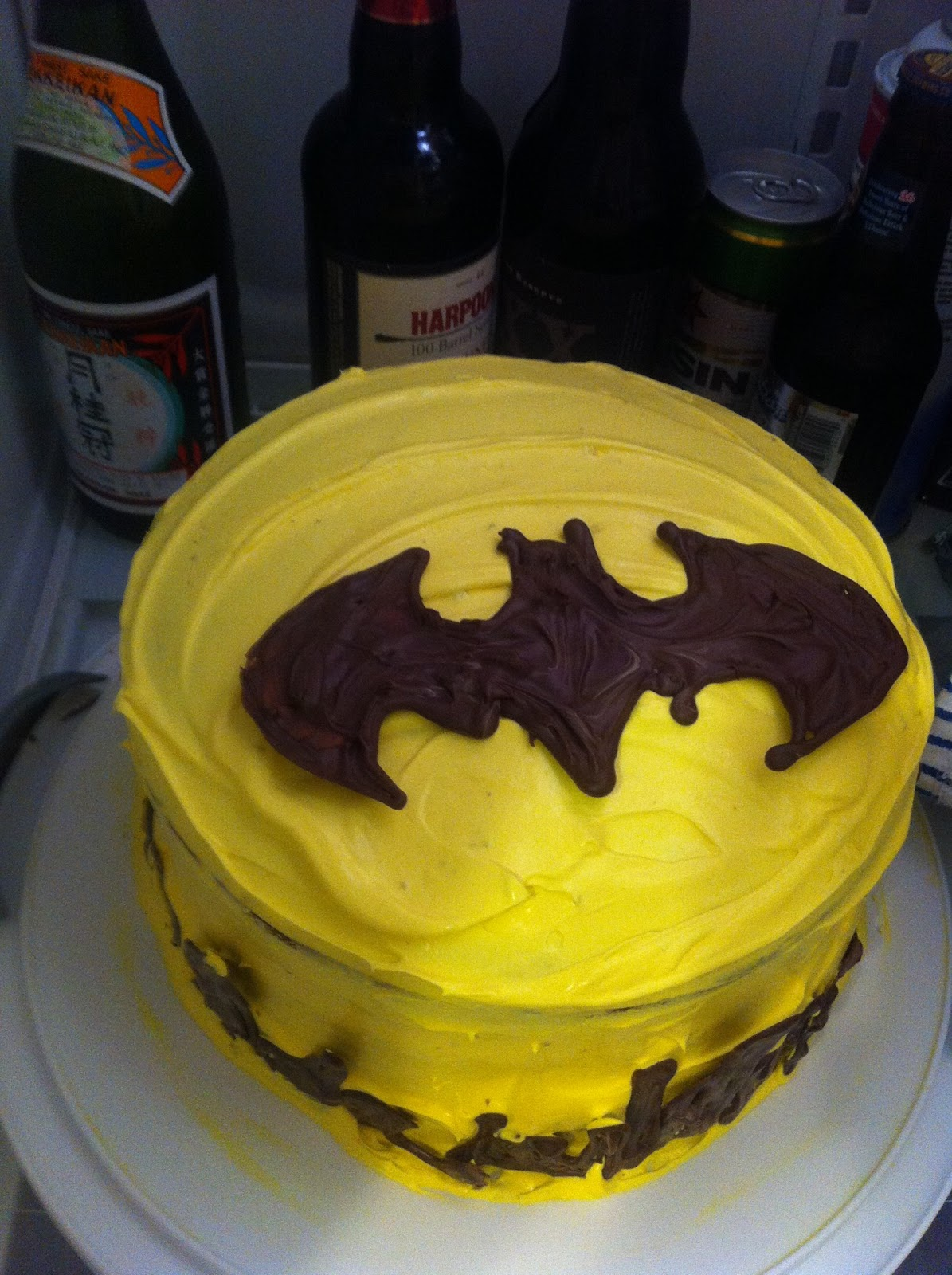 Witty Munch Step By Step How To Make A Batman Cake