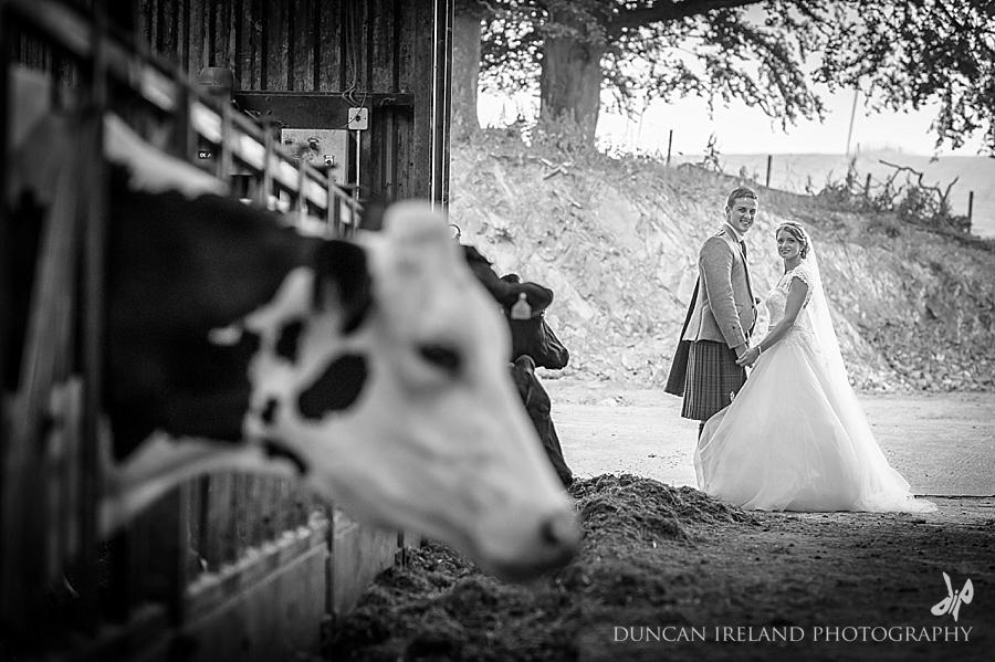 Dumfriesshire Farm Wedding