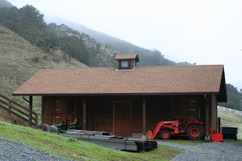 """Metal Roofing: """"Rustic"""" New Metal Roof in California"""