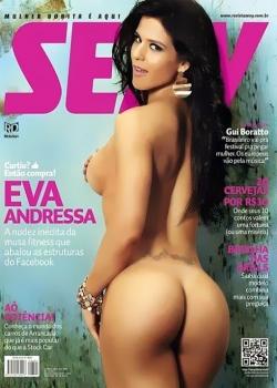 Revista Sexy Eva Andressa Março 2013