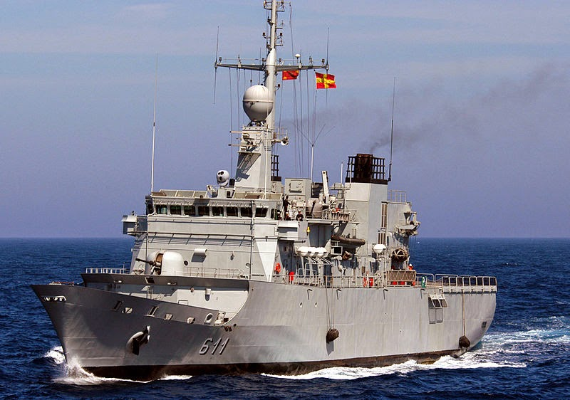 Morocco Navy's Mohammed V frigate built by STX France. (photo : US