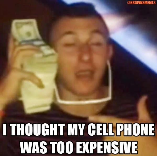 Johnny Manziel Memes Cleveland Sports Memes Browns Football