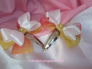 Красивые бантики для маленьких принцесс))) 2012-4+191