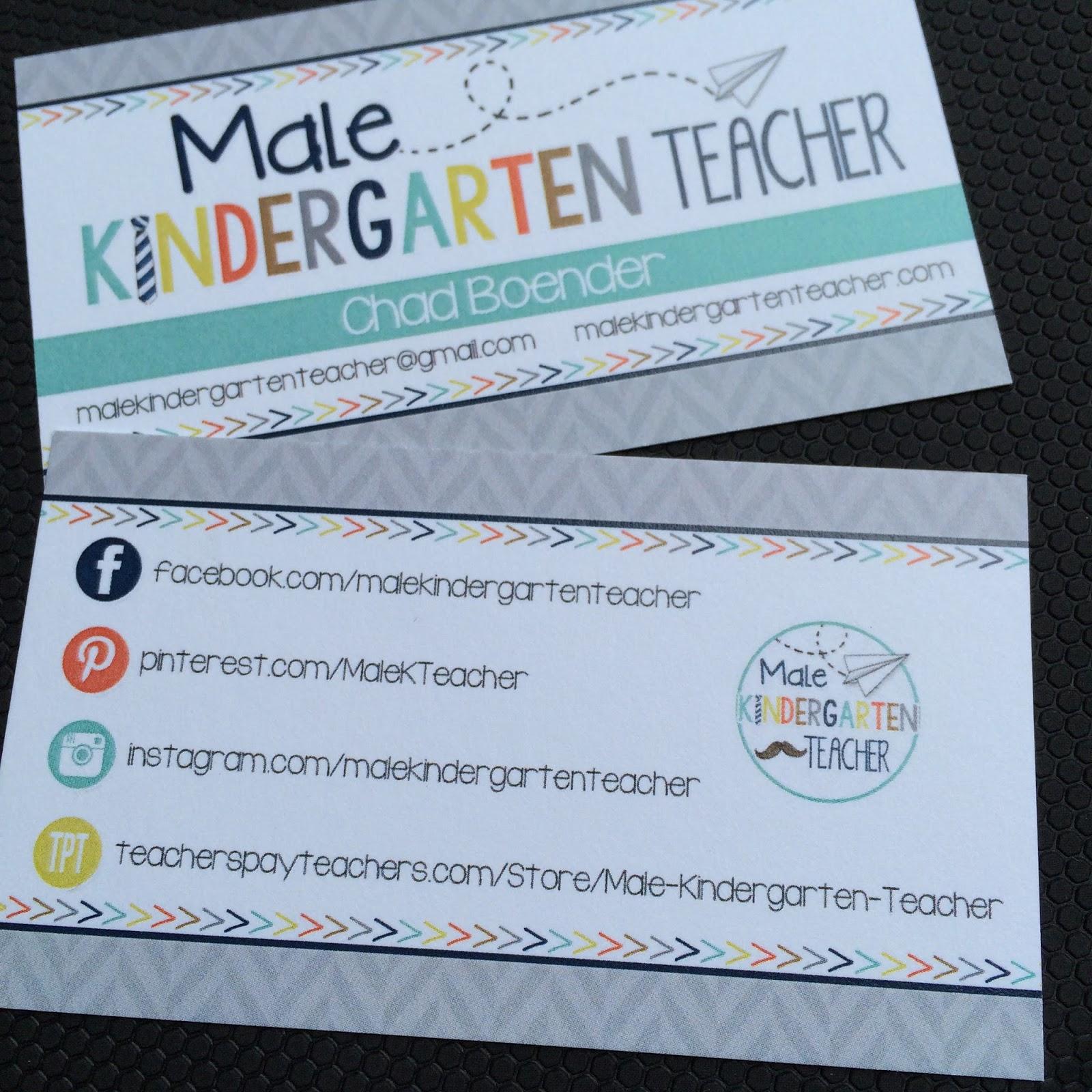 Teachers Pay Teachers Conference – Male Kindergarten Teacher