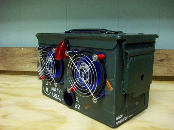 DIY Portable Ammo Box Speakers