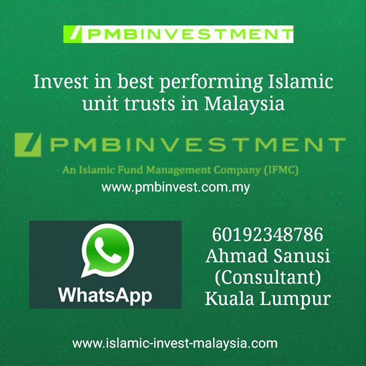 Islamic unit trust consultant - PMB Investment