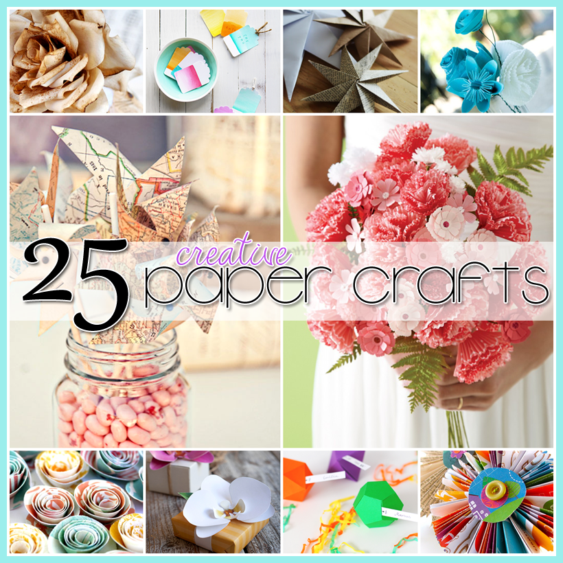 Creativedictionary for Creative craft ideas with paper