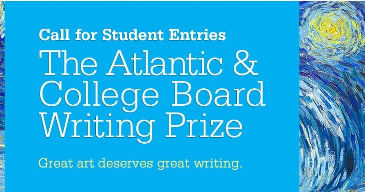 Essay contest college board
