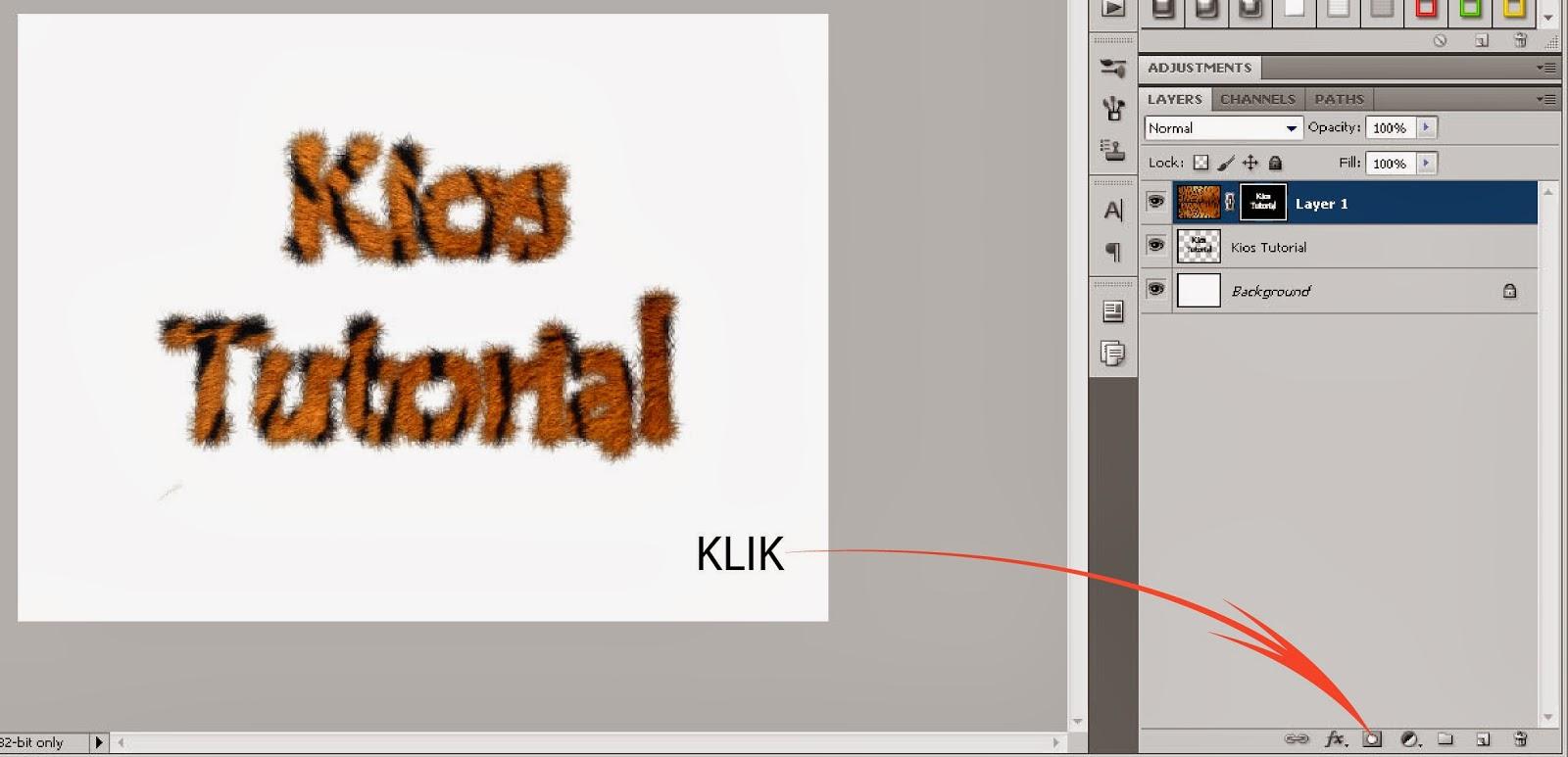 Tutorial Membuat Efek Fur Pada Text Dengan Photoshop