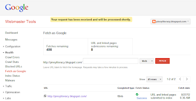 How to Make New Blog Indexed Immediately by Google