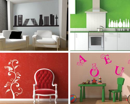 Tendencias decorar con vinilo pegatinas para el hogar for Pegatinas para decorar habitaciones