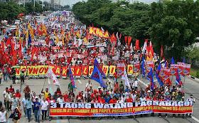 SONA 2014  17,000 protesters at Commonwealth Avenue
