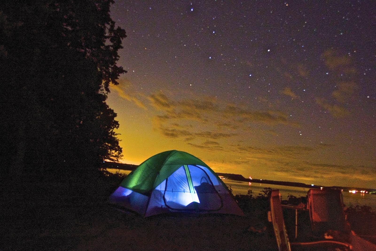 Camping under Ursa Major