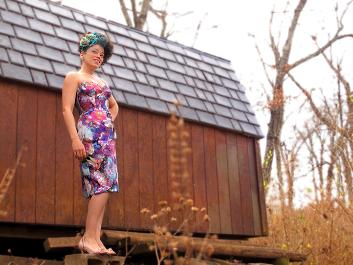 oonaballoona | a blog by marcy harriell | silk bustier dress | burdastyle sewing