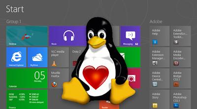 Linux dual Boot Windows 8 : Intelligent Computing