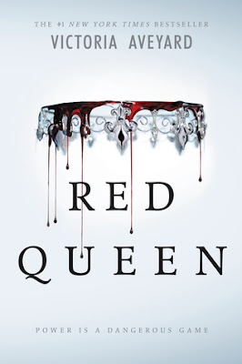 Cover of Red Queen by Victoria Aveyard on Amber, the Blonde Writer